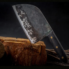 Load image into Gallery viewer, Japaknives™ - Full Tang Steel Knife + Cloth Sheath - Japaknives