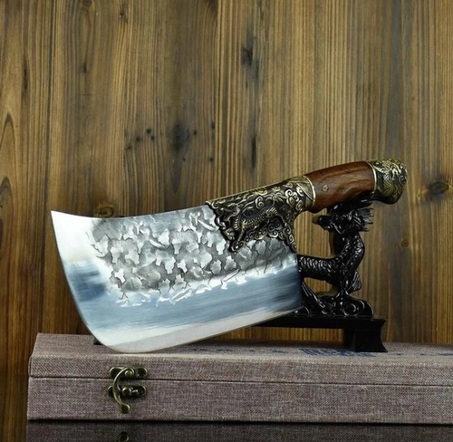 Japaknives™ - Stainless Steel Dragon Cleaver - Japaknives