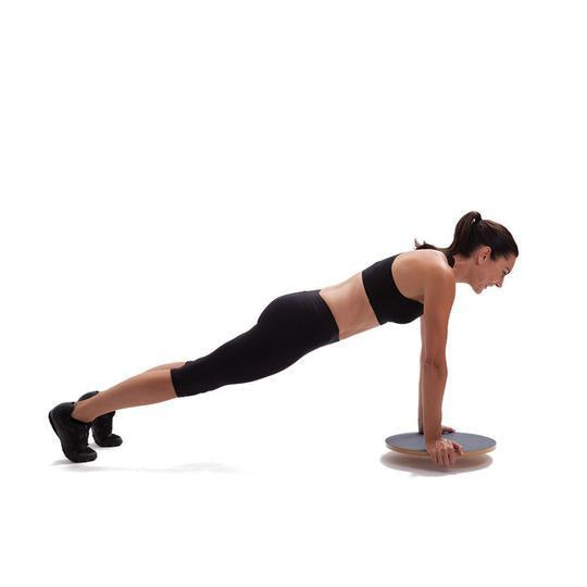 How do I use my Balance Board for Shoulder, Chest and Core Exercises?