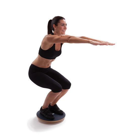 Ankle, Foot and Knee exercises on a Balance Board