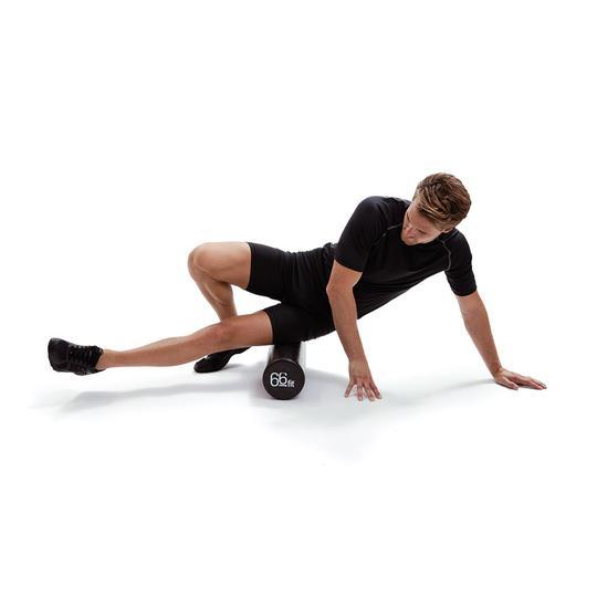 ITB, Hip Flexor and Quad Stretching Exercises using our 66fit Foam Rollers