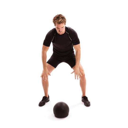 How to use your Slam Ball for Lower Leg Exercises