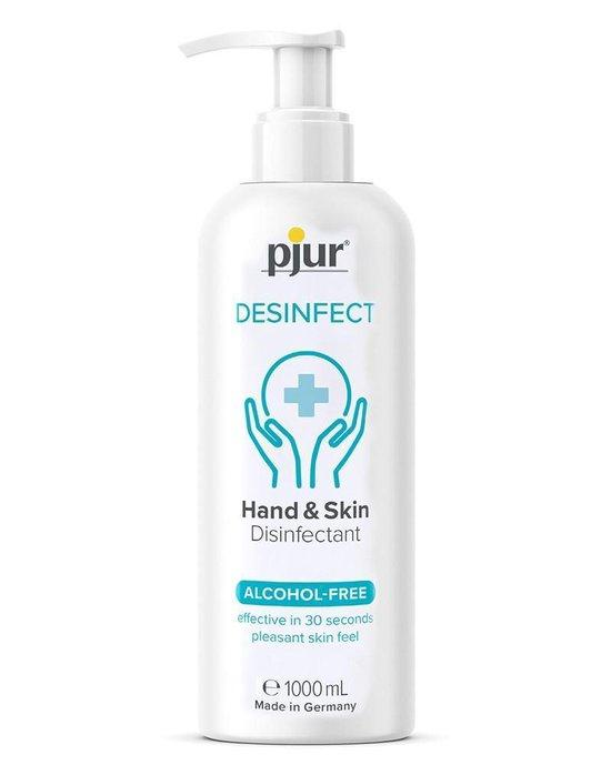 Pjur Desinfect 1000ml Pump Bottle Hand Sanitiser