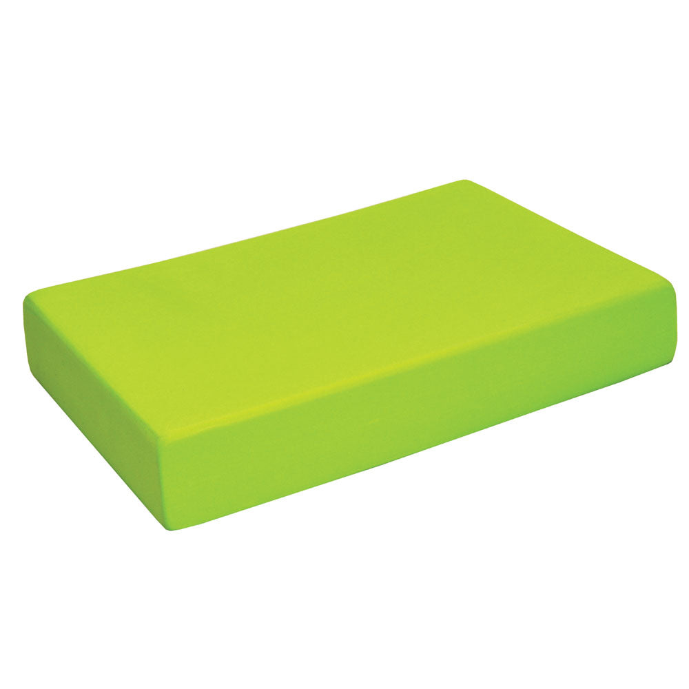 Lime Green Yoga Block