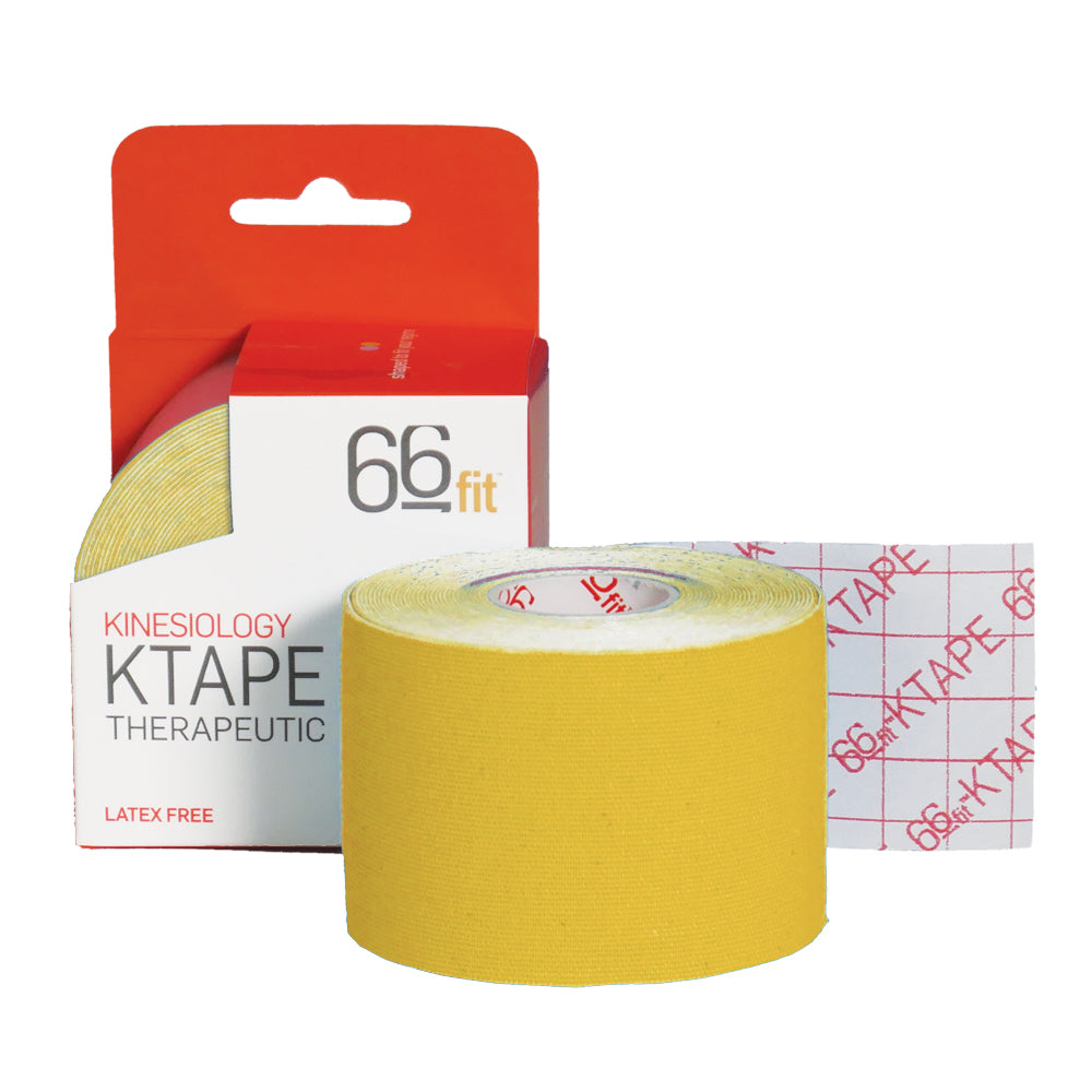 Yellow Kinesiology Tape