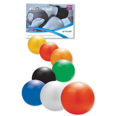 AllCare Anti-burst Exercise Ball With Foot Pump 45cm - 90cm
