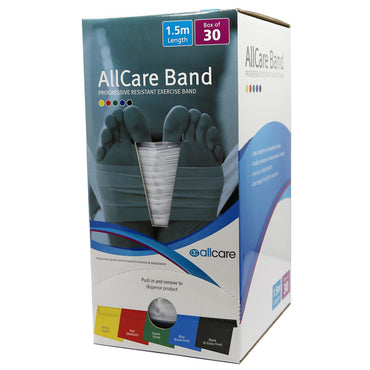 AllCare Latex Exercise Band - 30pcs x 1.5m