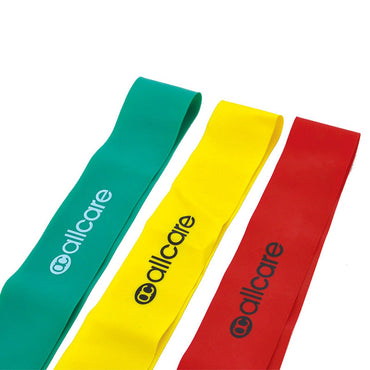 AllCare Latex Exercise Band Loops - 100cm