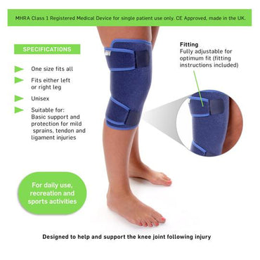 Closed Knee Support