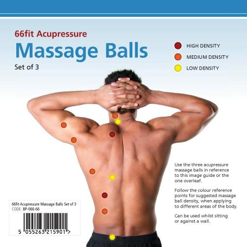 Acupressure massage balls