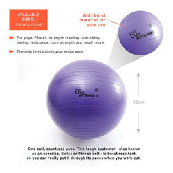 Purple Gym Ball