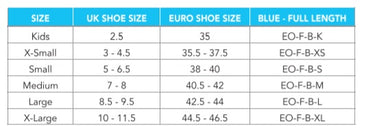 Orthotics Sizing