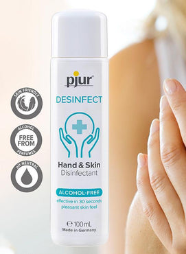Pjur Desinfect 100ml Bottle Hand Sanitiser