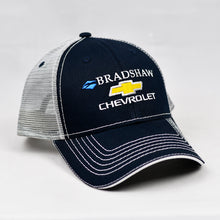 Load image into Gallery viewer, Navy & Grey Semi-Pro Snap-Back Trucker
