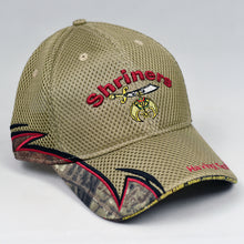Load image into Gallery viewer, Khaki Air-Mesh & Real Tree Sport Trim Semi-Pro Cap