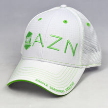 Load image into Gallery viewer, White Ripstop & White Semi-Pro Air-Mesh Trucker Cap