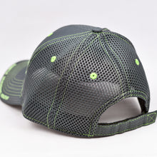 Load image into Gallery viewer, Charcoal Ripstop & Charcoal Semi-Pro Air-Mesh Trucker Cap