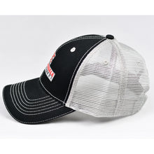 Load image into Gallery viewer, Black & Grey Semi-Pro Trucker