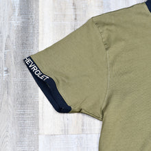 Load image into Gallery viewer, Olive Green - Short Sleeve T-Shirt w/ Small Embroidered Left Chest Logo