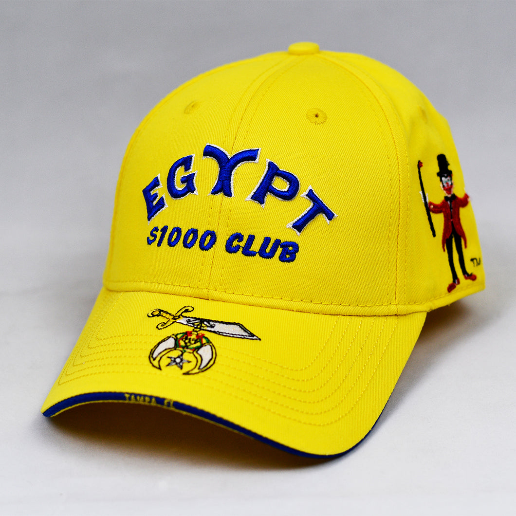 Yellow Chino Twill Semi-Pro Cap