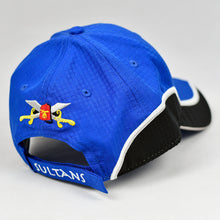 Load image into Gallery viewer, Royal Blue & Black Rip-Stop Sport Design Cap