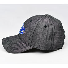 Load image into Gallery viewer, Dark Grey Chambray Semi-Pro Cap