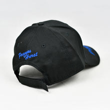Load image into Gallery viewer, Black Chino Twill Semi-Pro Cap
