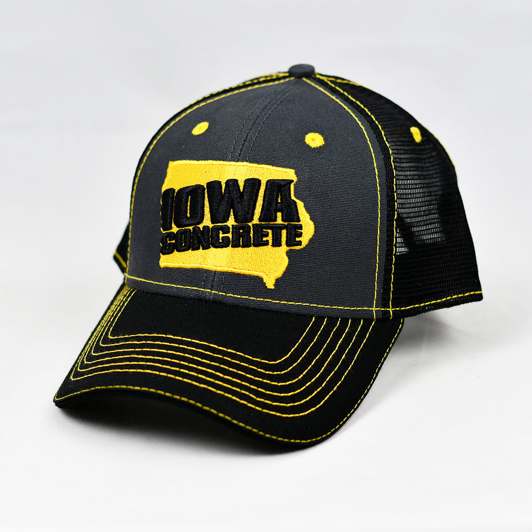 Charcoal & Black Semi-Pro Trucker