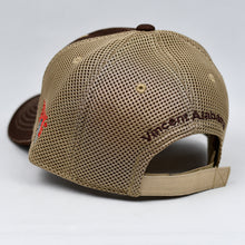 Load image into Gallery viewer, Brown Chino Twill & Khaki Air-Mesh Semi-Pro Trucker