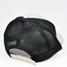 Load image into Gallery viewer, Light Grey Rip-Stop & Black Air-Mesh Semi-Pro Trucker