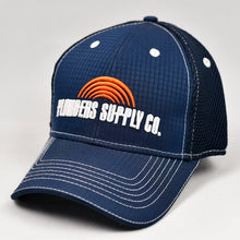 Load image into Gallery viewer, Navy Rip-Stop & Black Air-Mesh Semi-Pro Trucker