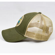 Load image into Gallery viewer, Olive & Khaki  Semi-Pro Trucker