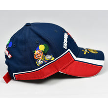 Load image into Gallery viewer, Navy & Red Rip-Stop Sport Design Cap