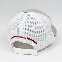 Load image into Gallery viewer, Light Grey Rip-Stop & White Air-Mesh Semi-Pro Trucker