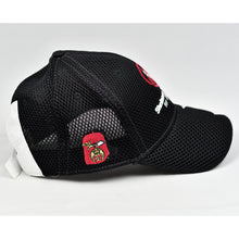 Load image into Gallery viewer, Black Air-Mesh & White Chino Twill Sport Design Cap