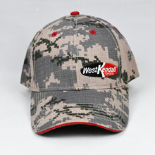 Load image into Gallery viewer, Desert Digital Camo w/ Red Trims Semi-Pro Cap