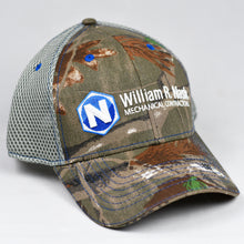 Load image into Gallery viewer, Ream Tree Camo & Grey Air-Mesh Semi-Pro Snap-Back Trucker