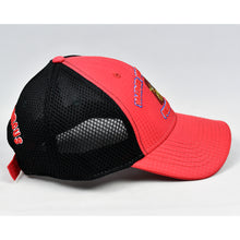 Load image into Gallery viewer, Red Rip-Stop & Black Air-Mesh Semi-Pro Trucker