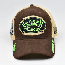 Load image into Gallery viewer, Suede Cotton & Khaki Air-Mesh Semi-Pro Trucker