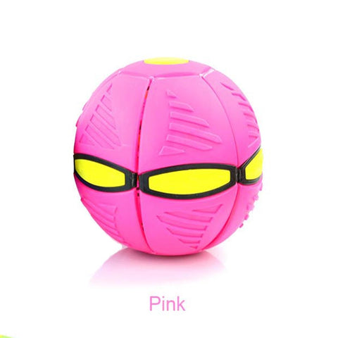 Outdoor Garden Beach Game Throw Disc Ball  With Light With Music