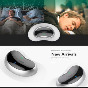 Smart Snore Stopper Biosensor anti snore Sleeping Aid with APP and sleep monitor sleep aid device CPAP replacer Stop Snoring