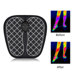 Electric EMS Foot Massager Foot Muscle Stimulator Massager Wireless Low Frequency Feet Physiotherapy ABS Stimulator Massage Mat