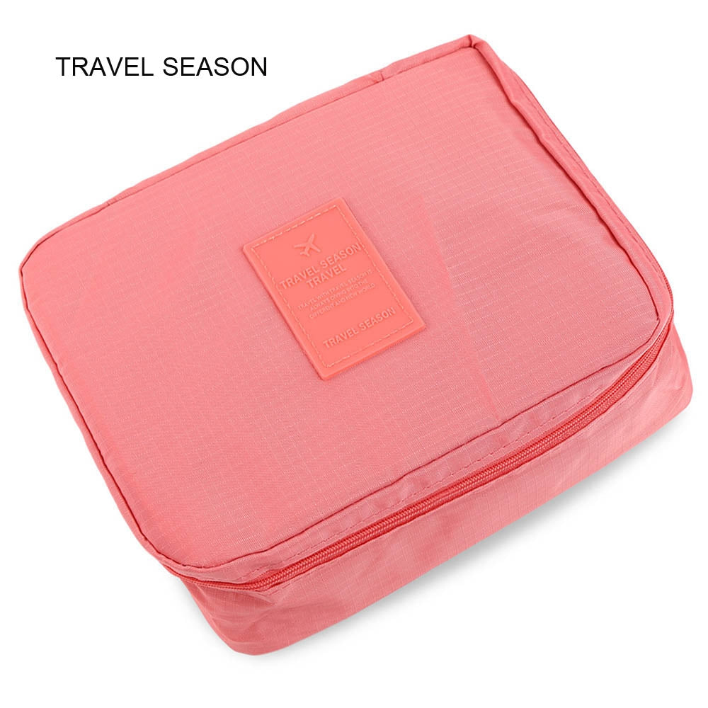 TRAVEL SEASON Outdoor Toiletry Makeup Cosmetic Storage Bag