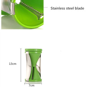 New vegetable spiral funnel slicer fruit cutter peeler kitchen cooking tool
