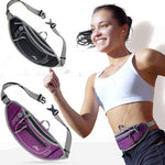 AONIJIE Running Waist Pack Neoprene Close-fitting Outdoor Sports Racing Hiking Gym Fitness Money Belt