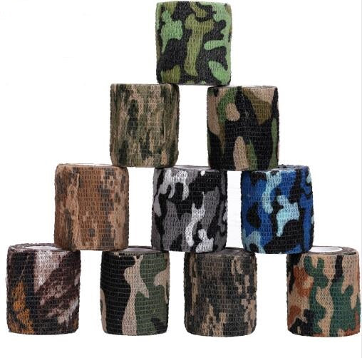5cmx4.5m Outdoor Hunting Shooting Tool Camouflage Stealth Tape