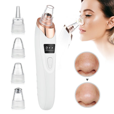 Blackhead Remover Vacuum Acne Pimple Black Spot Suction Electric Facial Pore Cleaner Skincare Exfoliating Beauty Instrument