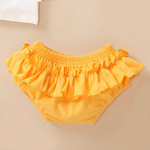 Headband Casual Sunflower Top Shorts  Baby Girl Clothes 3PCS Outfits Set Baby Girl