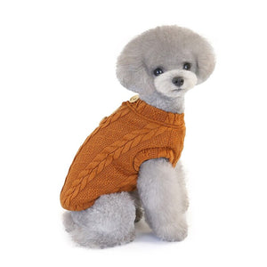 Dog Jacket Coat Pets Cats Clothes Sweater Winter Thickening Sweater Clothes