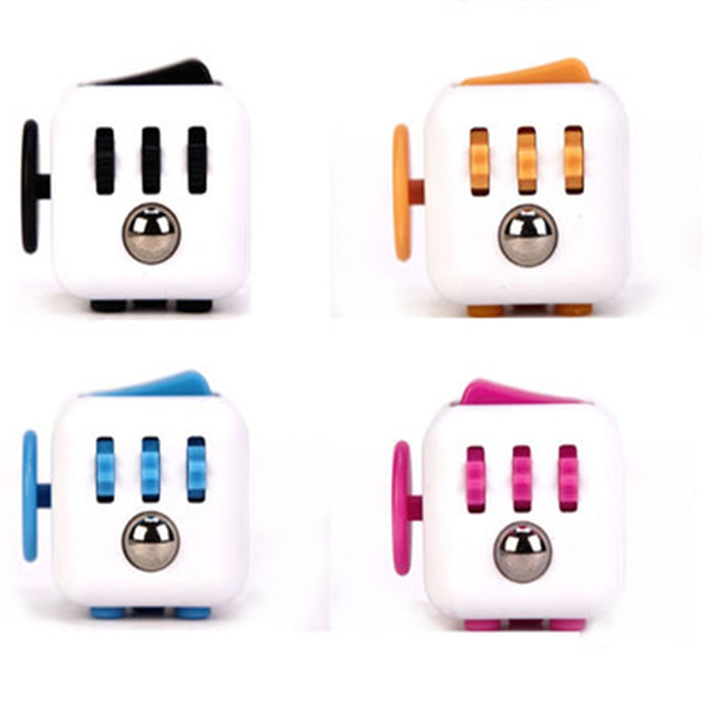 Fidget cube  Decompression dice anti-irritating anxiety venter six-sided fingertip toy decorative pendant